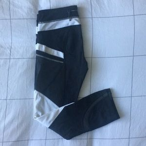 lululemon pace rival crop * reflective